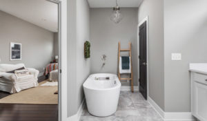 H·E Homes Indianapolis Custom Homes with Beautiful Bathrooms