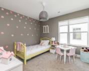 new built home, custom children's bedroom