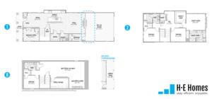 Discover Floorplan - H-E Homes