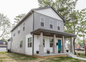 exterior design of new home
