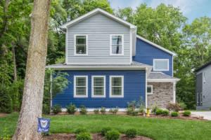 beautiful custom home exterior