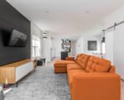 custom living room design Indianapolis