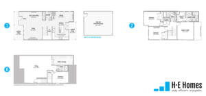 Perform Floorplan - H-E Homes